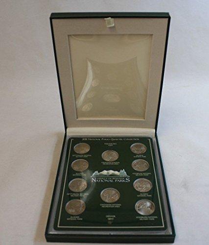 Genuine ~2011 National Parks P&D Mint Quarter Set (CC1712)