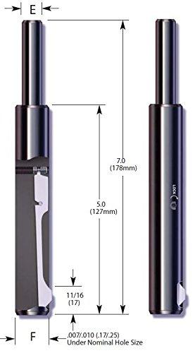 E-Z Burr Tool EZL0687-02 (11/16 inch) HSS (Pack of 1) by E-Z Burr