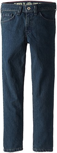 Dickies Girl Skinny Jeans - Dickies Big Girls' Skinny Fit 5-Pocket Jean, Medium Stonewash Tint, 12