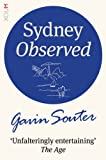 Front cover for the book Sydney observed by Gavin Souter