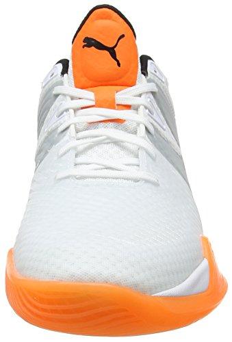 Indoor puma Scape Orange White shocking Uomo Puma Per quarry Explode Sport 1 Bianco wxnOa8X