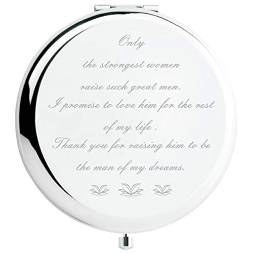 Mother of The Groom Gifts from Bride, Wedding Keepsake Gift,Great Gifts Presentfor Mom Mommy Mother(Silver, Mother of The Groom)