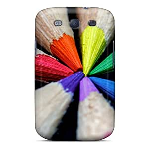 New Fashion Premium Tpu Case Cover For Galaxy S3 - Colored Pencils by runtopwell