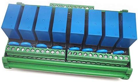 便利 8チャンネルリレーソケット8パネルドライバーボードDC 12V NPN 組み立てが簡単 (Bundle : DC12V NPN Plus shell)