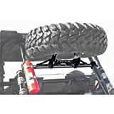 Tusk UTV Heavy Duty Spare Tire Carrier- POLARIS RZR XP 1000 XP4 1000 XP TURBO 2014-2018