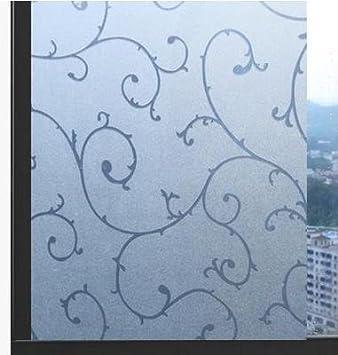 Fenster Undurchsichtig s twl e 60 cm breit statische freien kunststoff fensterfolie