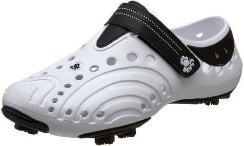 (DAWGS) ゴルフスピリット シューズ メンズ ホワイト×ブラック MsGolfSpiritWH/BK 9(25.5〜26.5cm)