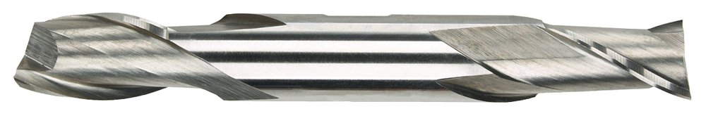 3//8 x 3//8 Size Bright Finish Center Cutting Cobalt Morse Cutting Tools 44568 Double End Mills 2 Flutes