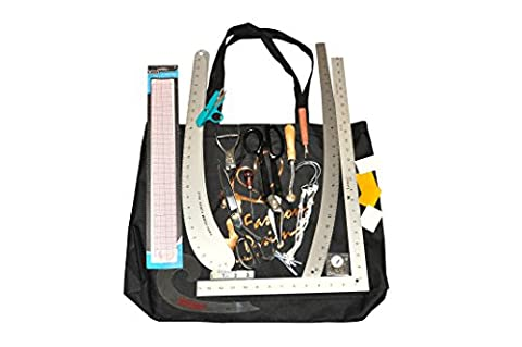 SP1 Complete Set of Rulers and pattern making tools for Fashion Design Students. RECOMMENDED BY FASHION DESIGN INSTRUCTORS IN THE - Fashion Design Set