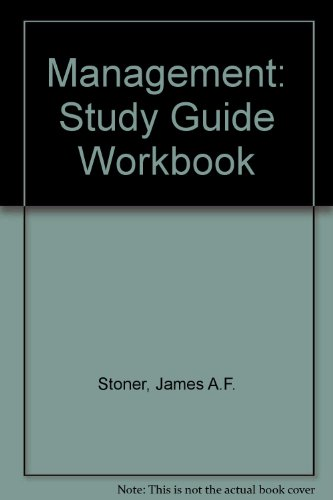 Study Guide and Workbook: Management