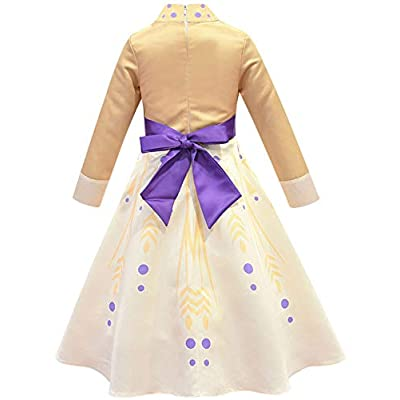 Riekinc Princess Dress Girls Fancy Party Dress Up Performance Cosplay Costume: Clothing