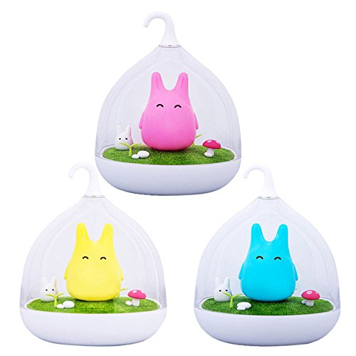 Ingooood The Spiderwick Totoro Portable Touch Sensor USB LED Baby Night Light Bedside Lamp Hand-held Design Rechargeable (No Type Yout compare prices)