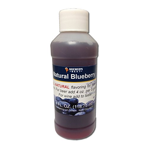Brewer's Best Natural Beer and Wine Fruit Flavoring (Blueberry)