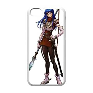 iPhone 5c Cell Phone Case White Fire Emblem The Sacred Stones Q9F6YC
