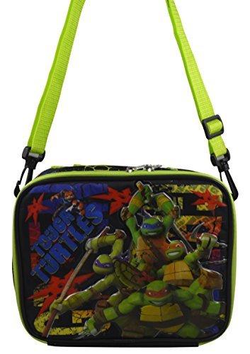Teenage Mutant Ninja Turtles TMNT Deluxe 3D Design-Insulated Lunchbox Lunch Kit w/ -