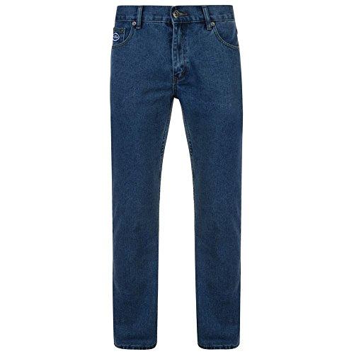 Forge Basic 5 Pocket Jeans in Stonewash in W38 x L27 Mens Basic 5 Pocket Denim