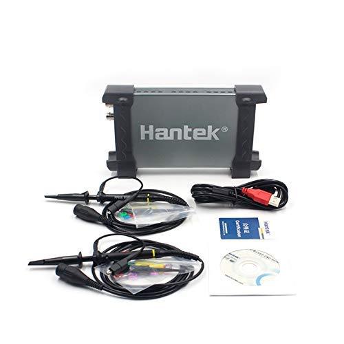 - Digital Oscilloscope,Laptop PC USB Digital Storage Virtual Oscilloscope 2 Channels 20Mhz Handheld Portable Oscilloscope