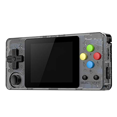 Ocamo Game Console, LDK Second Generation Open Source Version Mini Handheld Family Retro Games Console Transparent Black by Ocamo (Image #9)