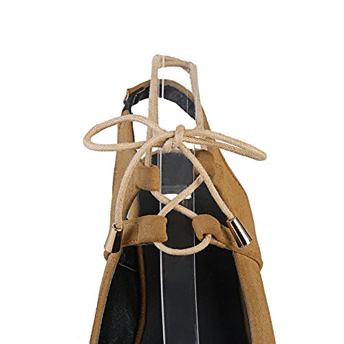 36 Jaune Femme Sandales 5 BalaMasa Jaune Compensées ASL05469 A6vFwWqxp