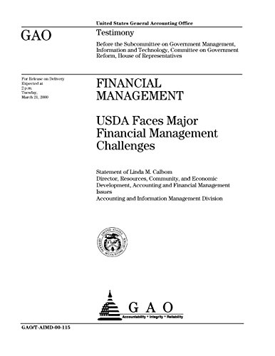 Financial Management: USDA Faces Major Financial Management Challenges