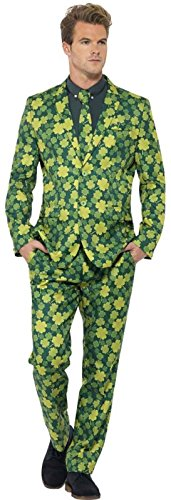 Smiff (Adult Shamrock Suit And Tie Costumes)