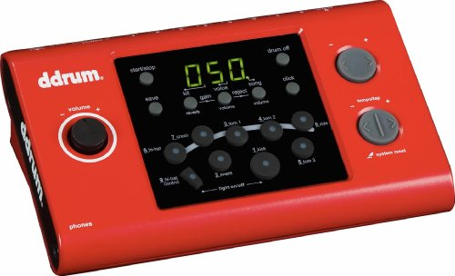 ddrum DD1M DD1 Electronic Drum Module, Red