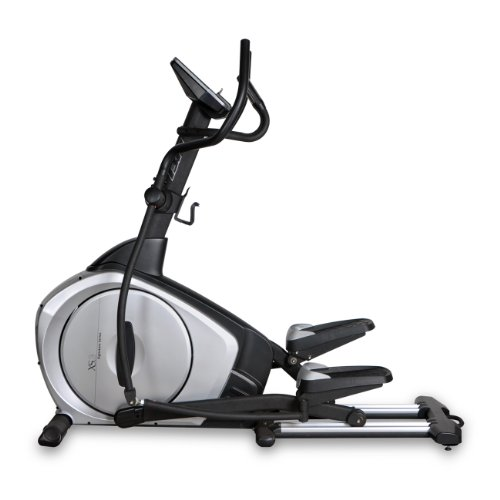 Bladez Fitness Elliptical - XS3 - A Total Body Workout And Natural Feel With An 20 Inch Stride For Maximum Comfort - Commercial Grade Quality - Easy To Read Large Blue Backlit LCD Display Provides 12-Quick Start Preset Programs - 16 Levels Of Resistance