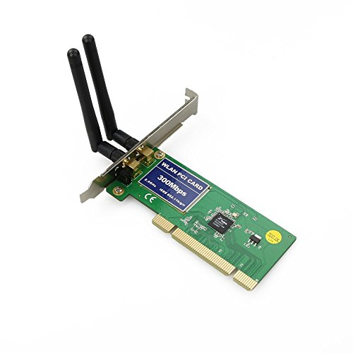 wickedhd pci 300mbps 300m wireless wifi card. Black Bedroom Furniture Sets. Home Design Ideas