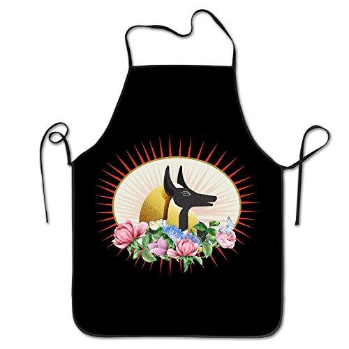 Kitchen Apron For Women Vintage Apron Dress Men Cooking Apron Pinafore Bling Bling Anubis God Anubis Soldier Apron ()