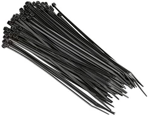 """100pc Pack 18/"""" Inch Black Network 100 LBS Zip Nylon Cable Cord Wire Tie Strap UL"""