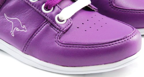 KangaROOS , Chaussures de sport spécial basket-ball pour femme Multicolore Iris/White 40