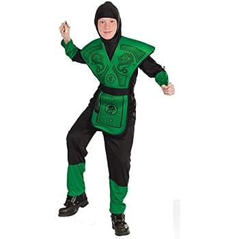 Forum Novelties Green Ninja Costume, Child Large