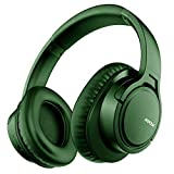 Mpow H7 Bluetooth Headphones Over Ear, 18 Hrs Comfortable Wireless Headphones w/Bag, Rechargeable HiFi Stereo Headset, CVC6.0 Noise Cancelling Headphones with Microphone for Cellphone Tablet