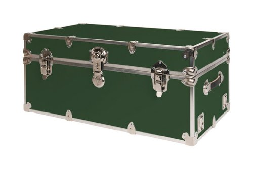 SecureOnCampus College Dorm Storage Trunks / Footlockers Large - Forest Green by SecureOnCampus (Image #7)