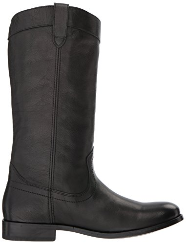 M US on FRYE Women's Melissa 11 Boot Black Western Pull ywqzpSf4q8