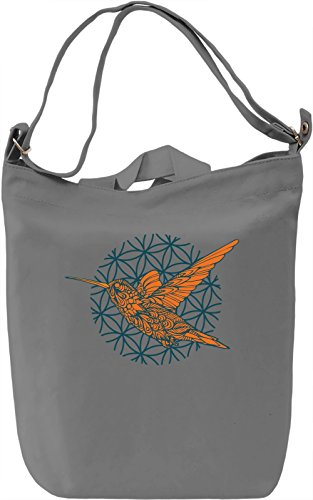 Colibri Borsa Giornaliera Canvas Canvas Day Bag| 100% Premium Cotton Canvas| DTG Printing|