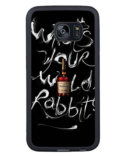 Hennessy Bottle Black Shell Phone Case Fit For Samsung Galaxy S7 Edge,Beautiful Cover (Hennessy Bottle Cover)