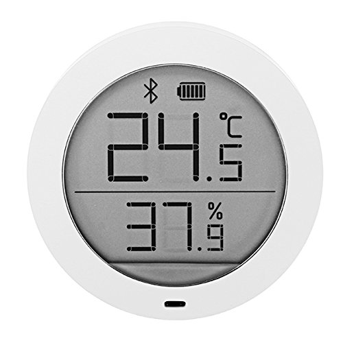 Lcd Digital Temperature Sensor - Xiaomi Mijia Bluetooth Temperature Humidity Sensor LCD Screen Digital Thermometer Hygrometer Moisture Meter