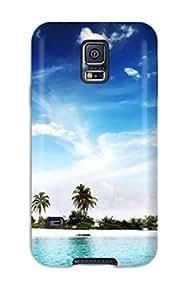 New Fashion Premium Case Cover For Galaxy S5 - Cool Island