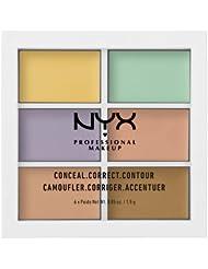 美亚:凑单品:NYX Professional Makeup 6色修容遮瑕盘 $8.99(