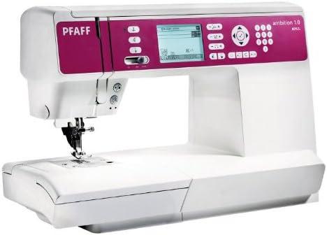 Máquina de coser Pfaff Ambition 1.0: Amazon.es: Hogar