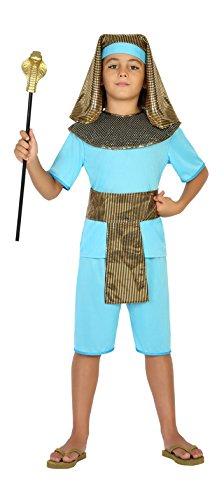 Atosa-20654 Disfraz Egipcio, Color Celeste, 5 a 6 años (20654 ...