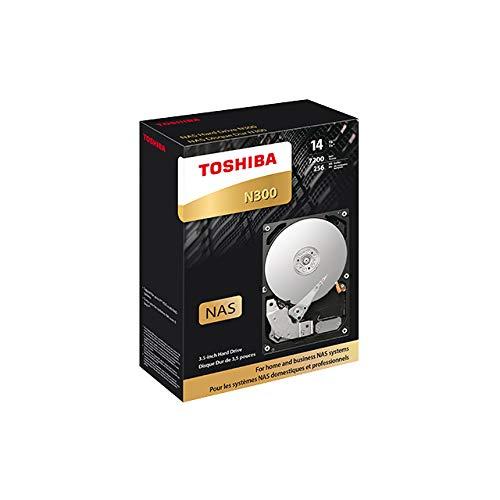 "Toshiba N300 12TB NAS 3.5/"" SATA HDD Bulk HDWG21CUZSVA"