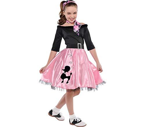 Amscan Miss Sock Hop | Fashionable 40s | Medium (8-10)