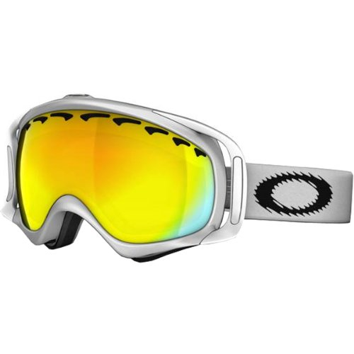 Adult Snow Snowmobile Goggles Eyewear - White/Fire Iridium / One Size Fits All (Shaun White Goggles)