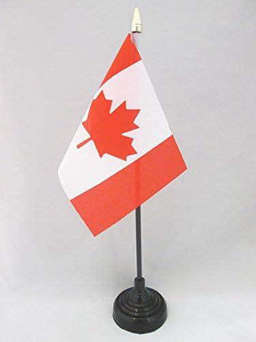 AZ FLAG Bandera de Mesa de CANADÁ 15x10cm - BANDERINA de DESPACHO ...