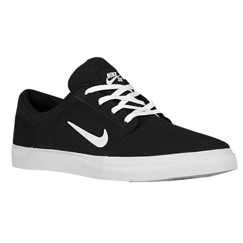 finest selection 4b92d 6bce5 Galleon - NIKE SB Portmore Canvas Mens Trainers 723874 Sneakers Shoes (UK  5.5 US 6 EU 38.5, Black White 001)
