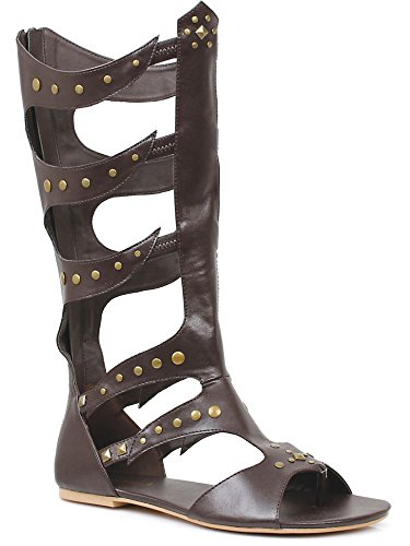 Ellie Shoes Men's Knee-High Flat Sandal Sizes M -