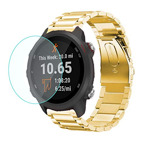 Vansee❤❤Ultra Clear Film Tempered Glass Screen Protector for Garmin Forerunner 245 Watch
