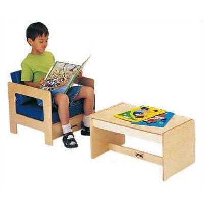 Jonti-Craft 3761JC Living Room Easy Chair, Blue